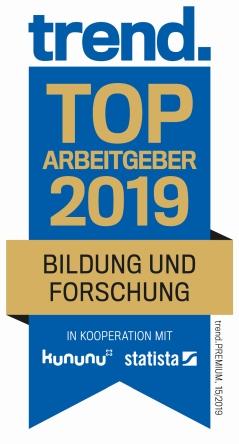 Trend - TOP Arbeitgeber 2019