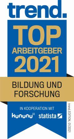 Trend - TOP Arbeitgeber 2021